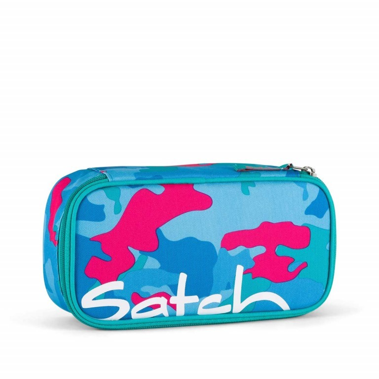Satch Schlamperbox Caribic Camouflage Pink, Manufacturer: Satch, EAN: 4057081005451, Dimensions (cm): 23.0x12.5x7.0, Image 1 of 1