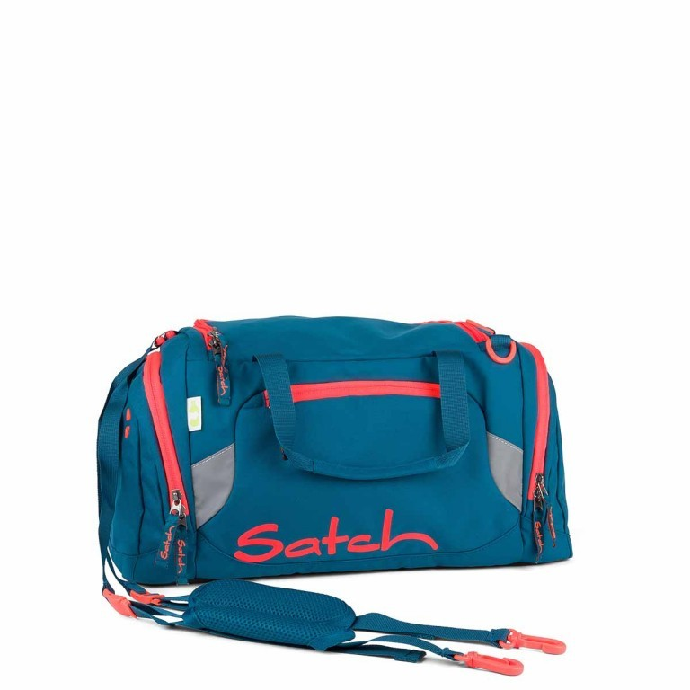 Satch Sporttasche Deep Sea, Farbe: blau/petrol, Manufacturer: Satch, EAN: 4260389768595, Dimensions (cm): 50.0x25.0x25.0, Image 1 of 1