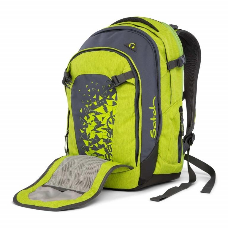 Satch Match Rucksack Ginger Lime, Farbe: grün/oliv, Marke: Satch, EAN: 4057081005208, Bild 2 von 7