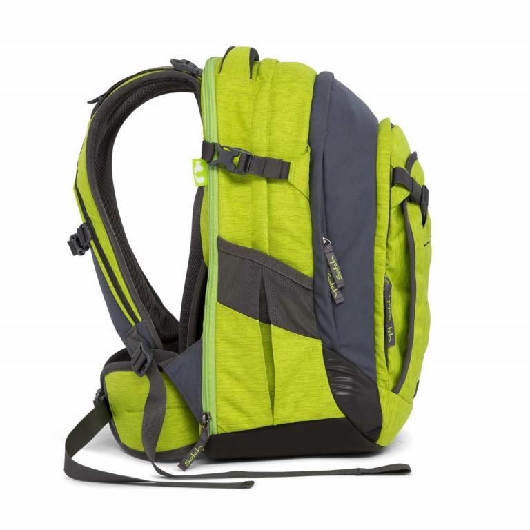 Satch Match Rucksack Ginger Lime, Farbe: grün/oliv, Marke: Satch, EAN: 4057081005208, Bild 6 von 7
