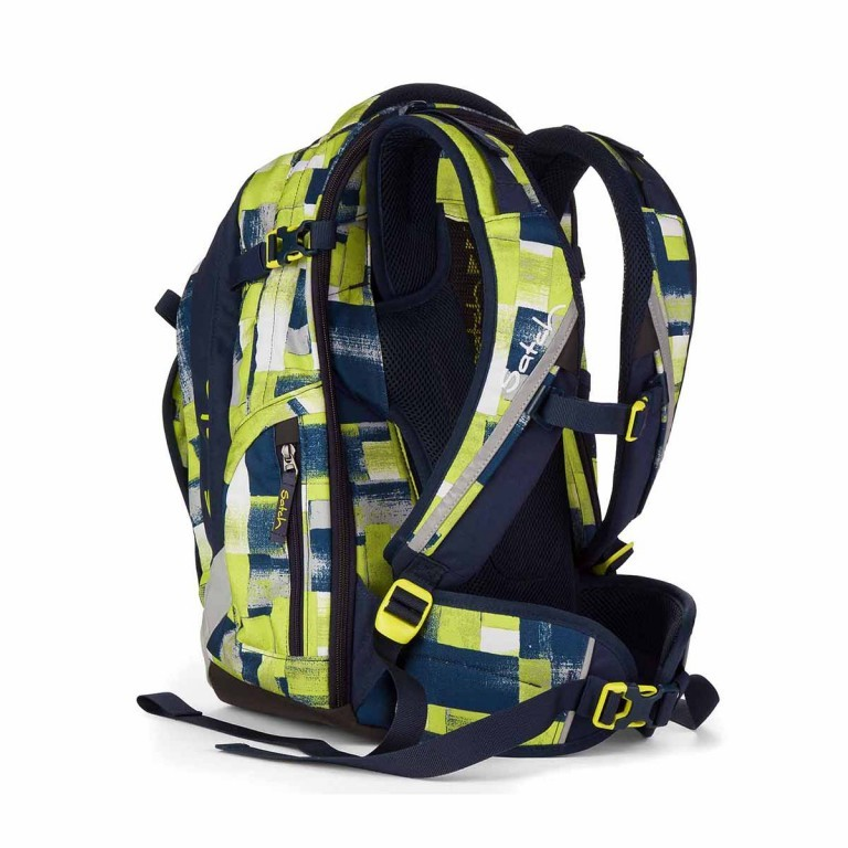 Satch Match Rucksack Sunny Fitty, Farbe: gelb, Manufacturer: Satch, EAN: 4260389762203, Image 4 of 5