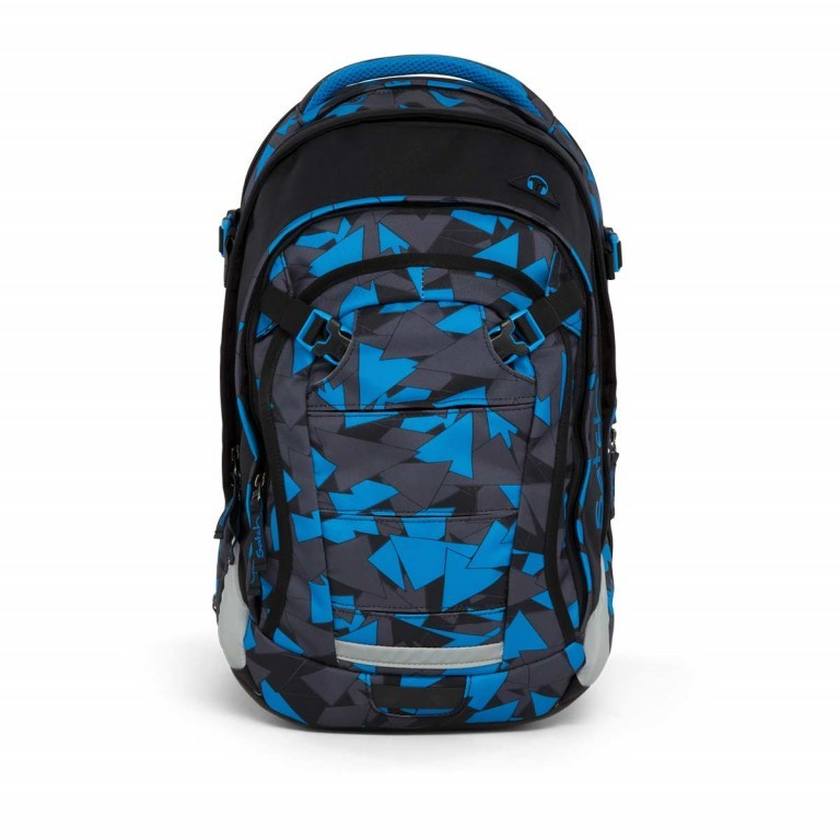 Satch Match Rucksack Blue Triangle, Farbe: blau/petrol, Manufacturer: Satch, EAN: 4057081005215, Image 1 of 7