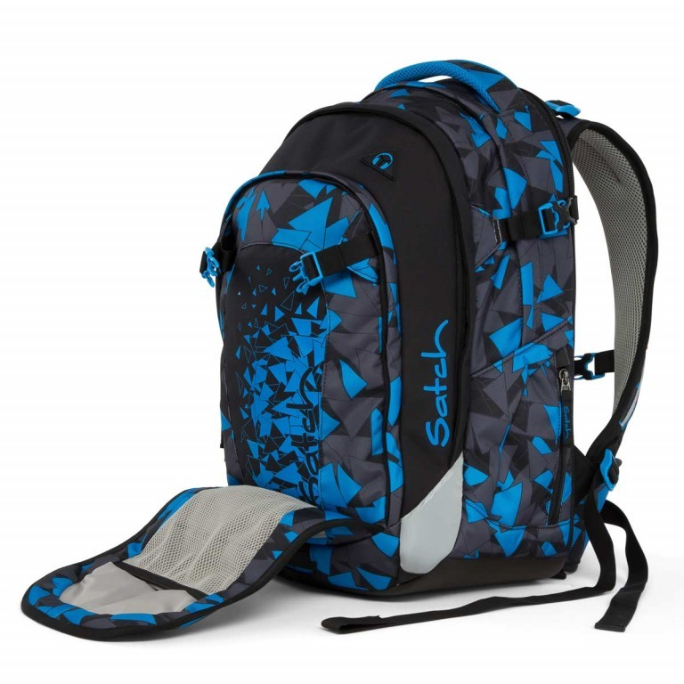 Satch Match Rucksack Blue Triangle, Farbe: blau/petrol, Manufacturer: Satch, EAN: 4057081005215, Image 3 of 7