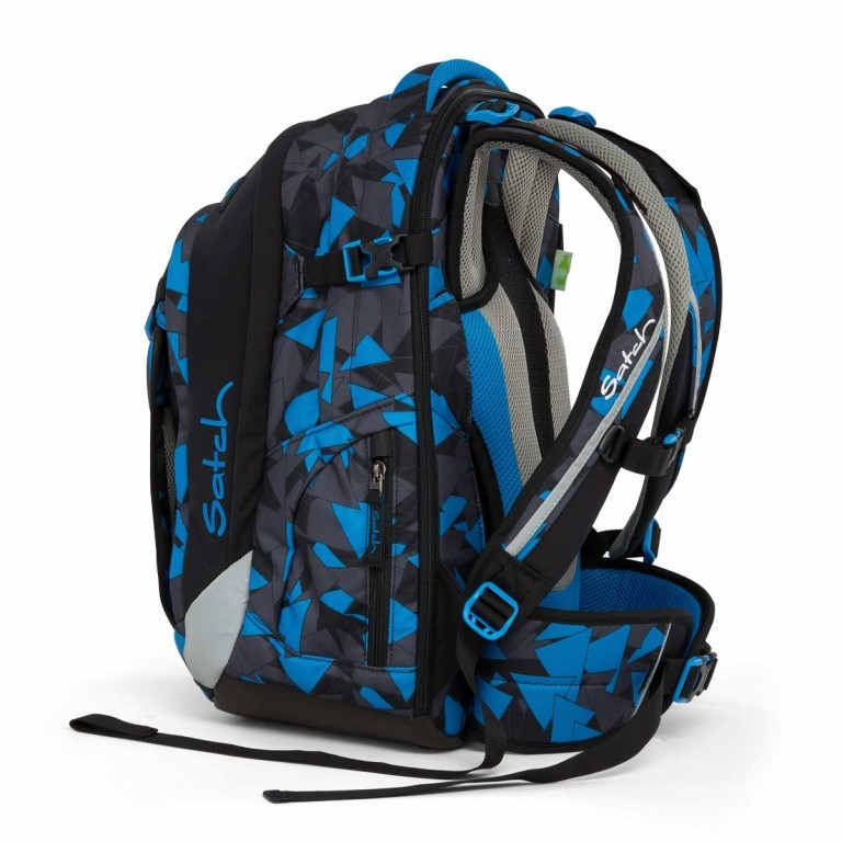 Satch Match Rucksack Blue Triangle, Farbe: blau/petrol, Manufacturer: Satch, EAN: 4057081005215, Image 5 of 7
