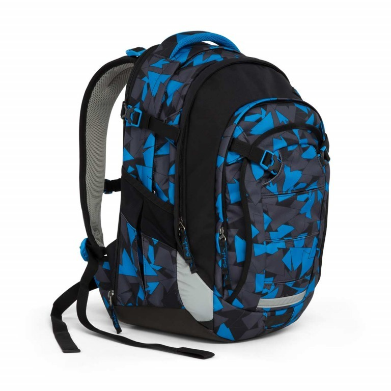 Satch Match Rucksack Blue Triangle, Farbe: blau/petrol, Manufacturer: Satch, EAN: 4057081005215, Image 7 of 7