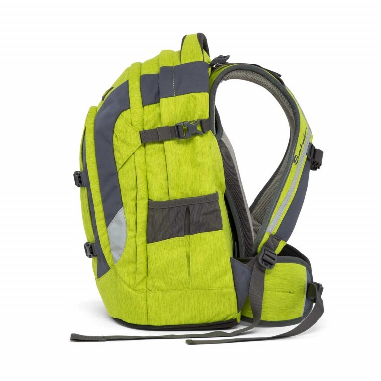 Satch Pack Rucksack Ginger Lime, Manufacturer: Satch, EAN: 4057081005147, Dimensions (cm): 30.0x45.0x22.0, Image 3 of 7