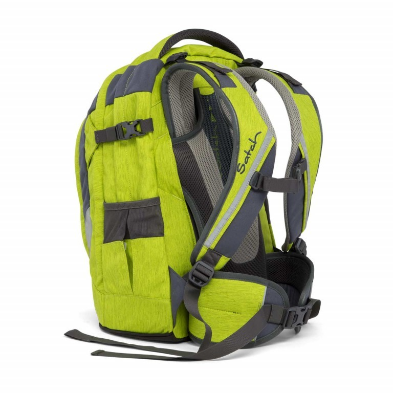 Satch Pack Rucksack Ginger Lime, Manufacturer: Satch, EAN: 4057081005147, Dimensions (cm): 30.0x45.0x22.0, Image 4 of 7