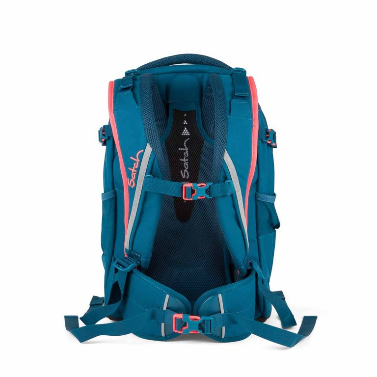 Satch Pack Rucksack Deep Sea, Farbe: blau/petrol, Manufacturer: Satch, EAN: 4260389768243, Dimensions (cm): 30.0x45.0x22.0, Image 4 of 4
