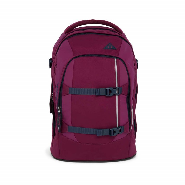 Satch Pack Rucksack Pure Purple, Farbe: rot/weinrot, Manufacturer: Satch, EAN: 4057081005178, Dimensions (cm): 30.0x45.0x22.0, Image 1 of 7