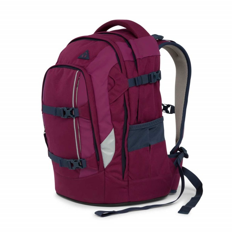 Satch Pack Rucksack Pure Purple, Farbe: rot/weinrot, Manufacturer: Satch, EAN: 4057081005178, Dimensions (cm): 30.0x45.0x22.0, Image 2 of 7