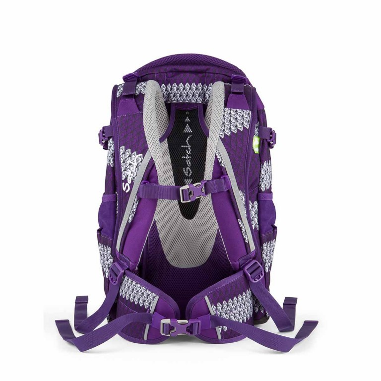 Satch Feat. MyBoshi Rucksack Purple Boshi, Farbe: flieder/lila, Marke: Satch, EAN: 4260389768304, Abmessungen in cm: 30.0x45.0x22.0, Bild 4 von 5