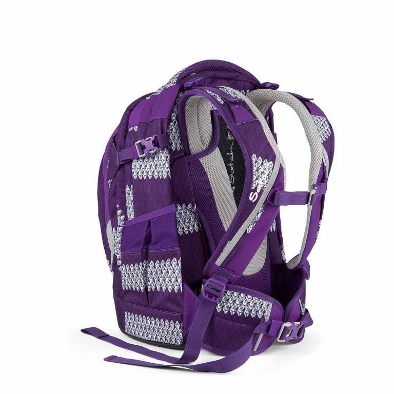 Satch Feat. MyBoshi Rucksack Purple Boshi, Farbe: flieder/lila, Marke: Satch, EAN: 4260389768304, Abmessungen in cm: 30.0x45.0x22.0, Bild 3 von 5