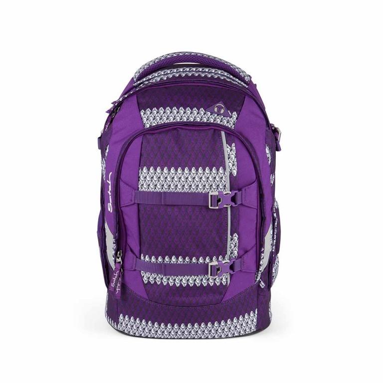 Satch Feat. MyBoshi Rucksack Purple Boshi, Farbe: flieder/lila, Marke: Satch, EAN: 4260389768304, Abmessungen in cm: 30.0x45.0x22.0, Bild 1 von 5