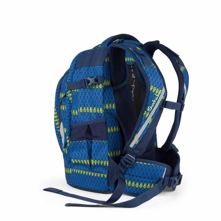 Satch Feat. MyBoshi Rucksack Blue Boshi, Farbe: blau/petrol, Marke: Satch, EAN: 4260389768311, Abmessungen in cm: 30.0x45.0x22.0, Bild 4 von 6