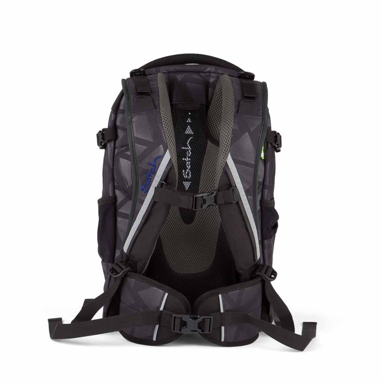 Satch Pack Rucksack Black Triad, Manufacturer: Satch, EAN: 4260389768250, Dimensions (cm): 30.0x45.0x22.0, Image 4 of 4