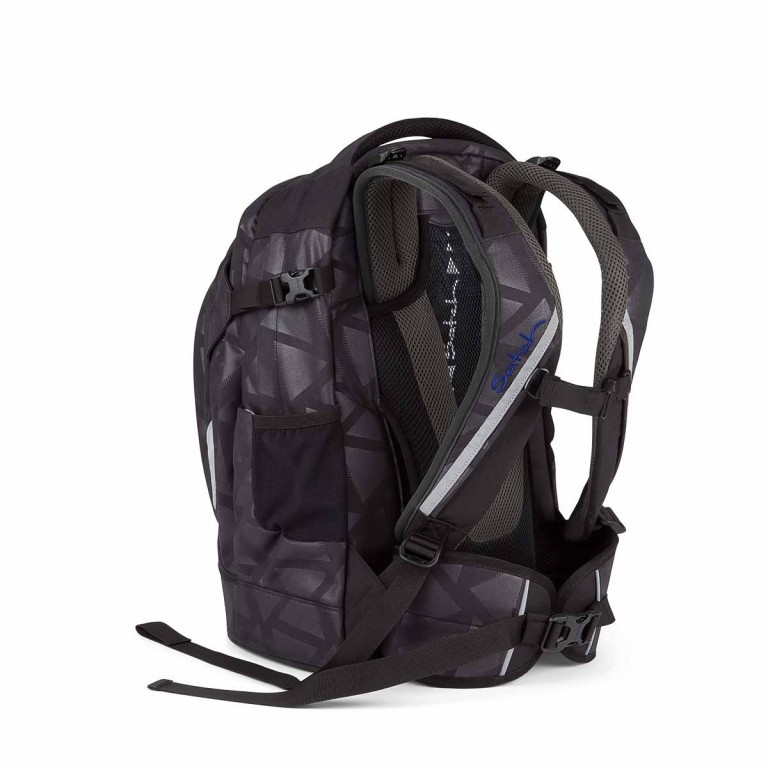 Satch Pack Rucksack Black Triad, Manufacturer: Satch, EAN: 4260389768250, Dimensions (cm): 30.0x45.0x22.0, Image 3 of 4