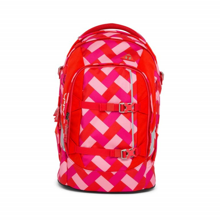 Satch Pack Rucksack Chaka Cherry, Manufacturer: Satch, EAN: 4057081005161, Dimensions (cm): 30.0x45.0x22.0, Image 1 of 7