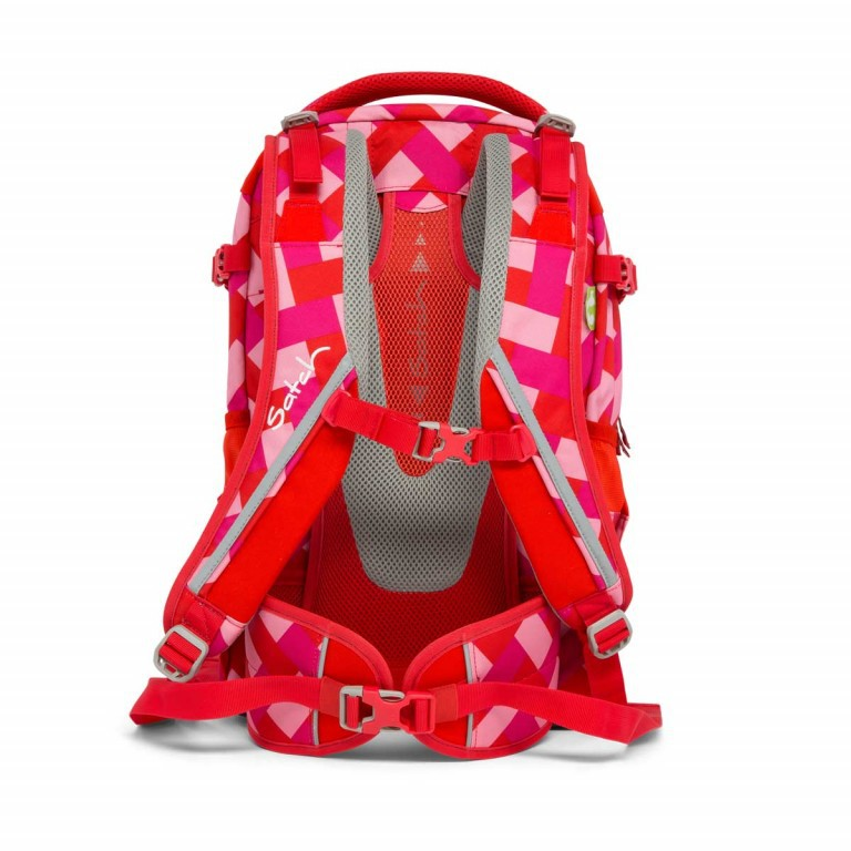 Satch Pack Rucksack Chaka Cherry, Manufacturer: Satch, EAN: 4057081005161, Dimensions (cm): 30.0x45.0x22.0, Image 5 of 7