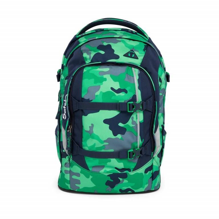 Satch Pack Rucksack Camouflage Grün, Farbe: grün/oliv, Marke: Satch, EAN: 4057081005154, Abmessungen in cm: 30.0x45.0x22.0, Bild 1 von 7