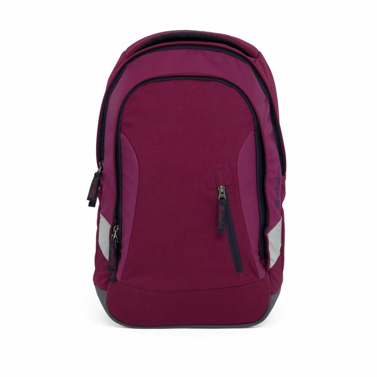 Satch Sleek Rucksack Pure Purple, Farbe: rot/weinrot, Manufacturer: Satch, EAN: 4057081005352, Dimensions (cm): 27.0x45.0x15.0, Image 1 of 7