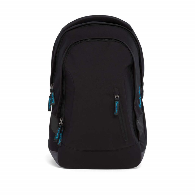 Satch Sleek Rucksack Black Bounce, Farbe: schwarz, Manufacturer: Satch, EAN: 4057081005321, Dimensions (cm): 27.0x45.0x15.0, Image 1 of 5