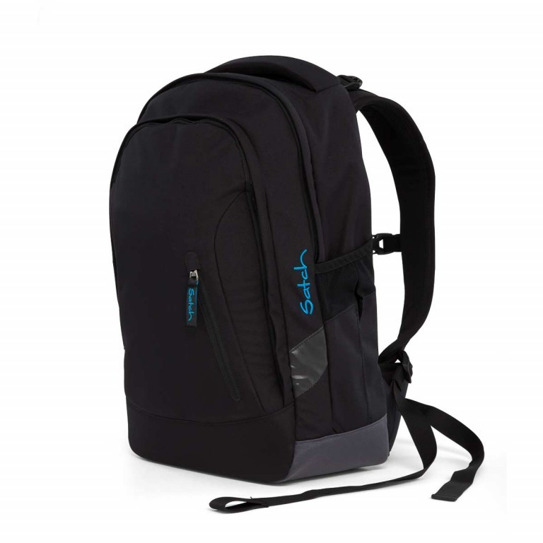 Satch Sleek Rucksack Black Bounce, Farbe: schwarz, Manufacturer: Satch, EAN: 4057081005321, Dimensions (cm): 27.0x45.0x15.0, Image 4 of 5