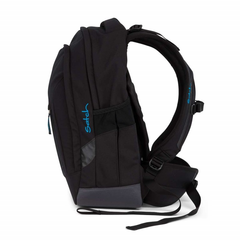 Satch Sleek Rucksack Black Bounce, Farbe: schwarz, Manufacturer: Satch, EAN: 4057081005321, Dimensions (cm): 27.0x45.0x15.0, Image 5 of 5