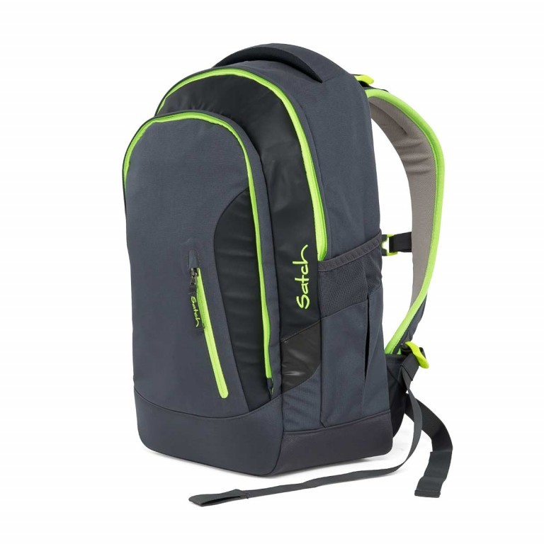 Satch Sleek Rucksack Phantom, Farbe: anthrazit, Manufacturer: Satch, EAN: 4057081005246, Dimensions (cm): 27.0x45.0x15.0, Image 4 of 7