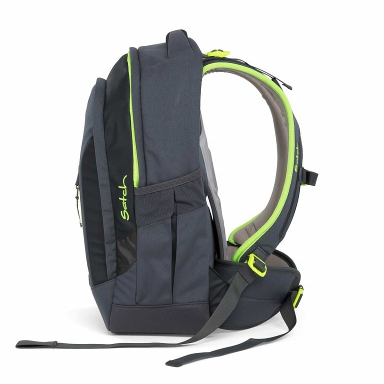 Satch Sleek Rucksack Phantom, Farbe: anthrazit, Manufacturer: Satch, EAN: 4057081005246, Dimensions (cm): 27.0x45.0x15.0, Image 6 of 7