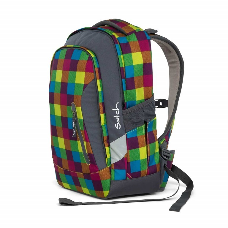 Satch Sleek Rucksack Beach Leach, Farbe: bunt, Manufacturer: Satch, EAN: 4057081005277, Dimensions (cm): 27.0x45.0x15.0, Image 4 of 7