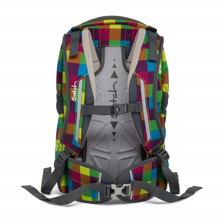 Satch Sleek Rucksack Beach Leach, Farbe: bunt, Manufacturer: Satch, EAN: 4057081005277, Dimensions (cm): 27.0x45.0x15.0, Image 2 of 7