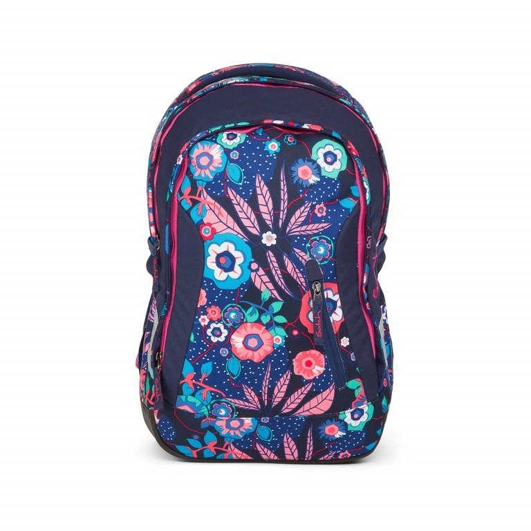 Satch Sleek Rucksack Cheeky Blue, Farbe: bunt, Manufacturer: Satch, EAN: 4057081012589, Dimensions (cm): 27.0x45.0x15.0, Image 1 of 4