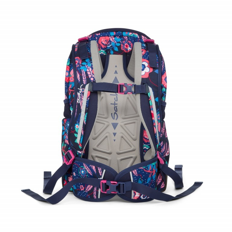 Satch Sleek Rucksack Cheeky Blue, Farbe: bunt, Manufacturer: Satch, EAN: 4057081012589, Dimensions (cm): 27.0x45.0x15.0, Image 4 of 4