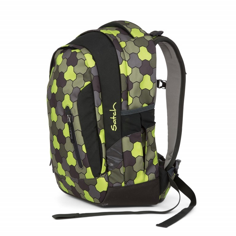 Satch Sleek Rucksack Jungle Flow, Manufacturer: Satch, EAN: 4057081012602, Dimensions (cm): 27.0x45.0x15.0, Image 2 of 4
