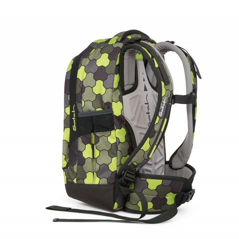 Satch Sleek Rucksack Jungle Flow, Manufacturer: Satch, EAN: 4057081012602, Dimensions (cm): 27.0x45.0x15.0, Image 3 of 4