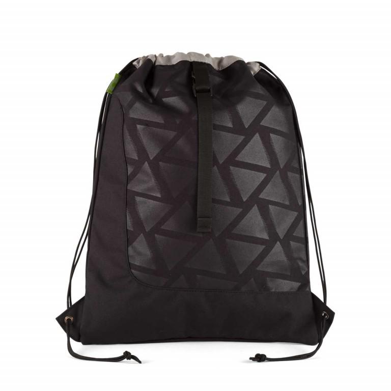 Satch Sportbeutel Black Triad, Farbe: schwarz, Marke: Satch, EAN: 4057081005697, Abmessungen in cm: 33.0x44.0x1.0, Bild 2 von 2