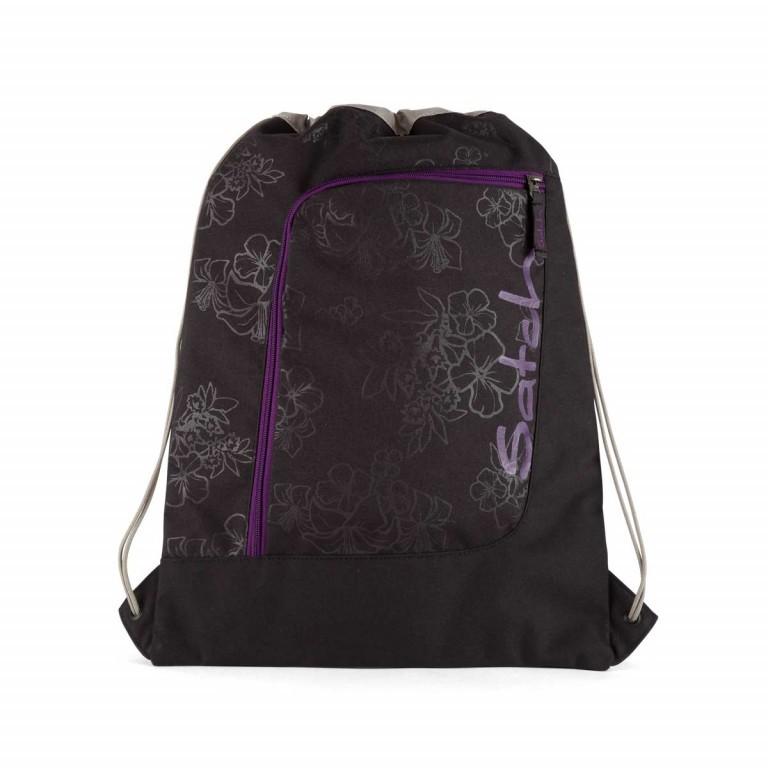 Satch Sportbeutel Purple Hibiscus, Marke: Satch, EAN: 4057081005703, Abmessungen in cm: 33.0x44.0x1.0, Bild 1 von 2