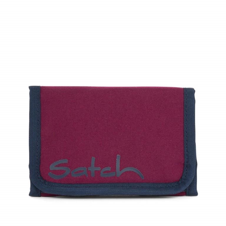 Satch Geldbeutel Pure Purple, Farbe: rot/weinrot, Marke: Satch, EAN: 4057081012794, Abmessungen in cm: 13.0x8.5x2.0, Bild 2 von 5