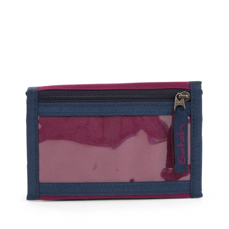 Satch Geldbeutel Pure Purple, Farbe: rot/weinrot, Marke: Satch, EAN: 4057081012794, Abmessungen in cm: 13.0x8.5x2.0, Bild 5 von 5