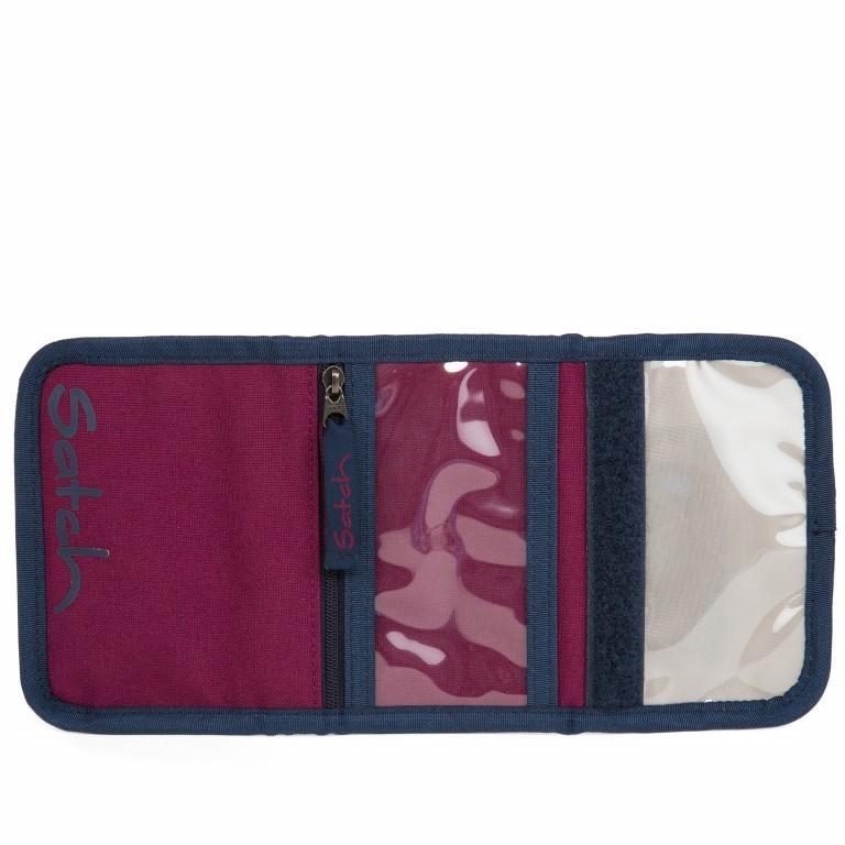 Satch Geldbeutel Pure Purple, Farbe: rot/weinrot, Marke: Satch, EAN: 4057081012794, Abmessungen in cm: 13.0x8.5x2.0, Bild 3 von 5