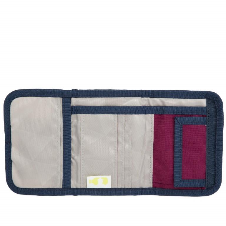 Satch Geldbeutel Pure Purple, Farbe: rot/weinrot, Marke: Satch, EAN: 4057081012794, Abmessungen in cm: 13.0x8.5x2.0, Bild 4 von 5