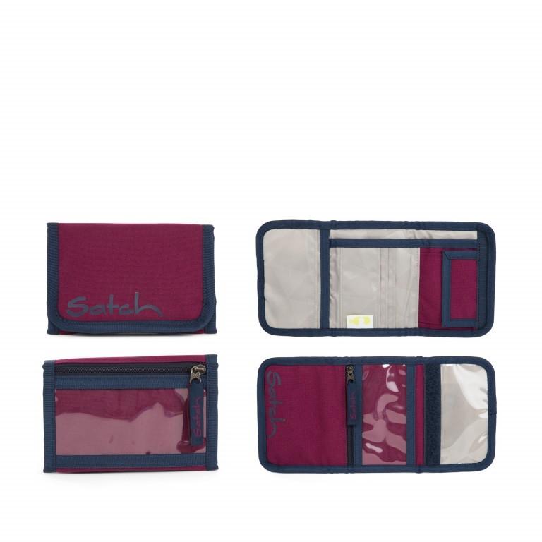 Satch Geldbeutel Pure Purple, Farbe: rot/weinrot, Marke: Satch, EAN: 4057081012794, Abmessungen in cm: 13.0x8.5x2.0, Bild 1 von 5