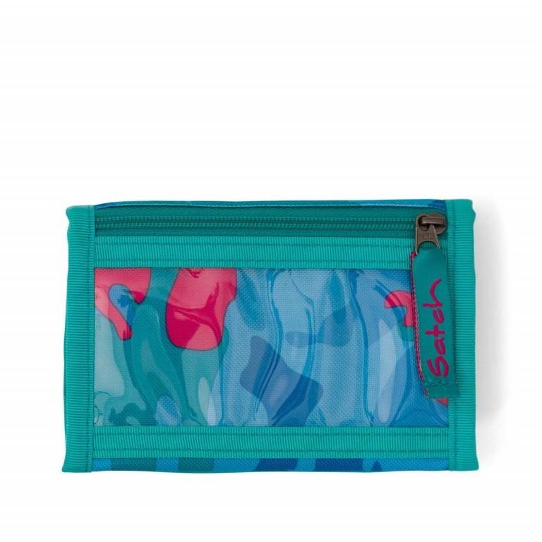 Satch Geldbeutel Caribic Camouflage Pink, Marke: Satch, EAN: 4057081005659, Abmessungen in cm: 13.0x8.5x2.0, Bild 5 von 5