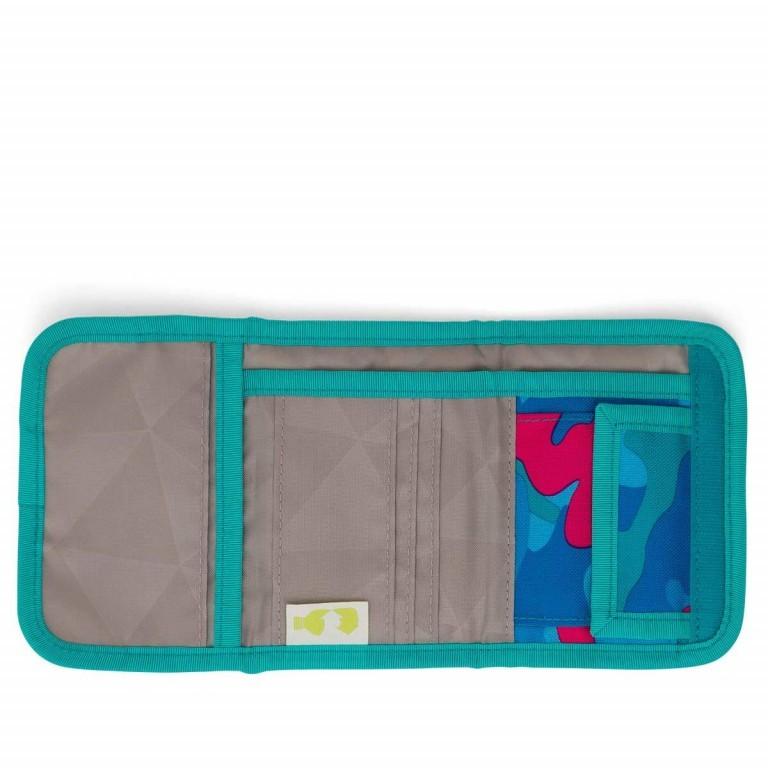 Satch Geldbeutel Caribic Camouflage Pink, Marke: Satch, EAN: 4057081005659, Abmessungen in cm: 13.0x8.5x2.0, Bild 4 von 5
