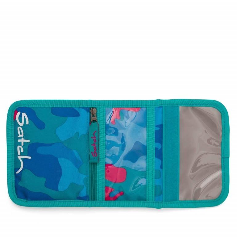 Satch Geldbeutel Caribic Camouflage Pink, Marke: Satch, EAN: 4057081005659, Abmessungen in cm: 13.0x8.5x2.0, Bild 3 von 5