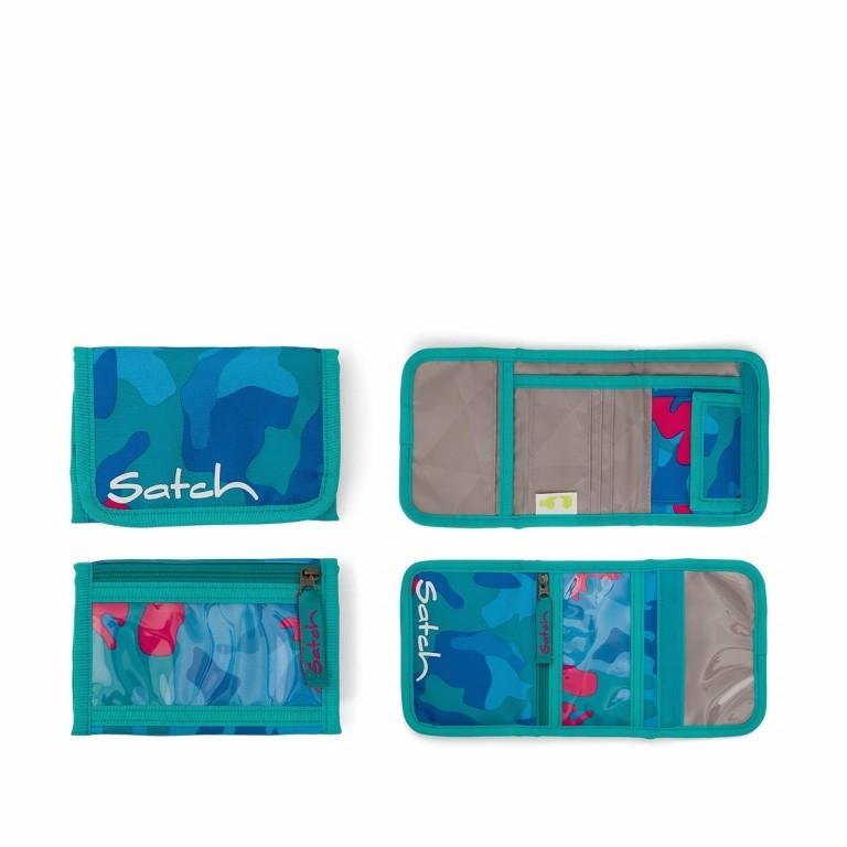 Satch Geldbeutel Caribic Camouflage Pink, Marke: Satch, EAN: 4057081005659, Abmessungen in cm: 13.0x8.5x2.0, Bild 1 von 5