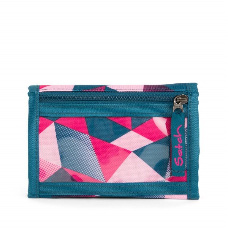 Satch Geldbeutel Pink Crush, Marke: Satch, EAN: 4057081012817, Abmessungen in cm: 13.0x8.5x2.0, Bild 5 von 5