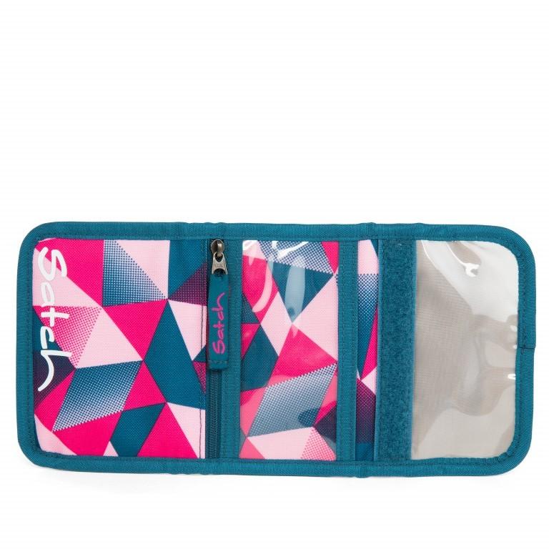 Satch Geldbeutel Pink Crush, Marke: Satch, EAN: 4057081012817, Abmessungen in cm: 13.0x8.5x2.0, Bild 3 von 5