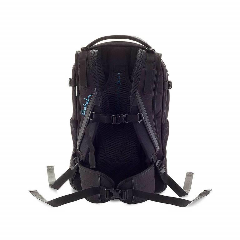 Satch Pack Rucksack Black Bounce, Farbe: schwarz, Marke: Satch, EAN: 4260389760117, Abmessungen in cm: 30.0x45.0x22.0, Bild 3 von 3