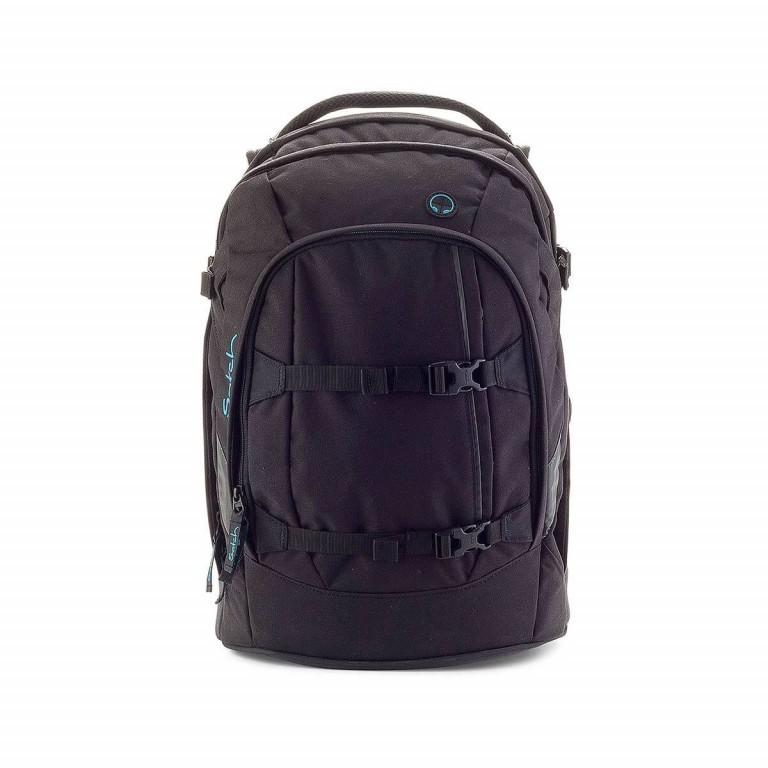 Satch Pack Rucksack Black Bounce, Farbe: schwarz, Marke: Satch, EAN: 4260389760117, Abmessungen in cm: 30.0x45.0x22.0, Bild 1 von 3